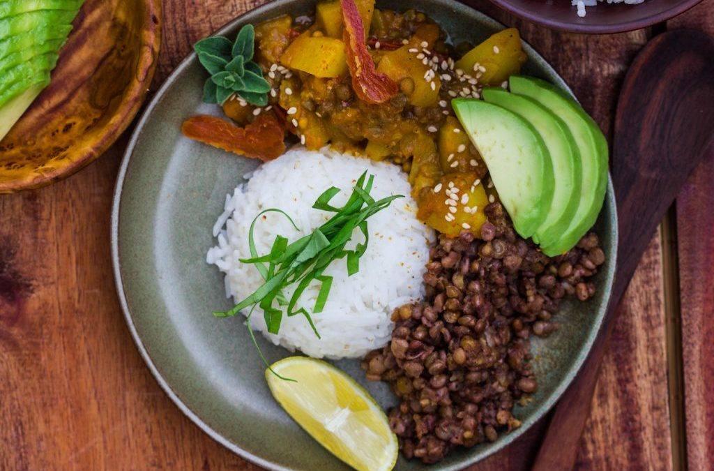 Aprikosen-Curry mit Kokosmilch