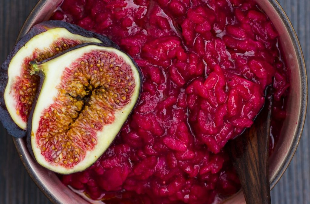 Erdendes Rote Bete Risotto
